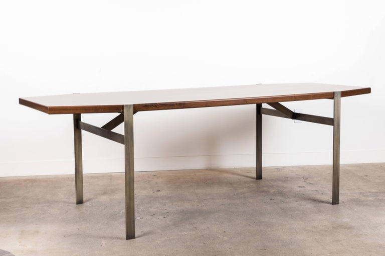 Cruz Dining Table by Lawson-Fenning In Excellent Condition For Sale In Los Angeles, CA