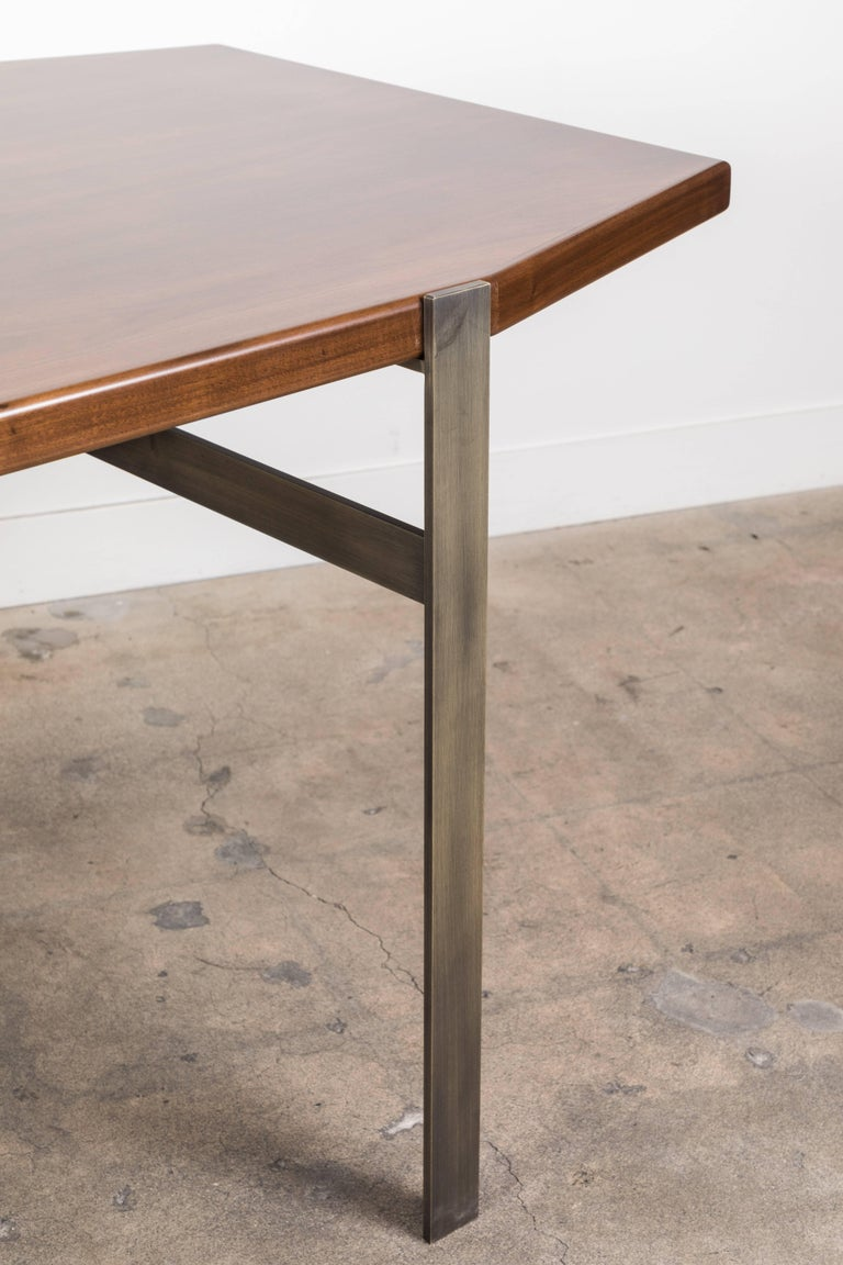 Walnut Cruz Dining Table by Lawson-Fenning For Sale