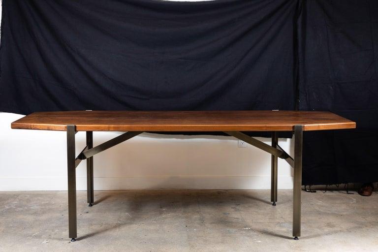 Walnut Cruz Dining Table by Lawson-Fenning For Sale