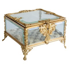 Crystal and Bronze Jewel Box