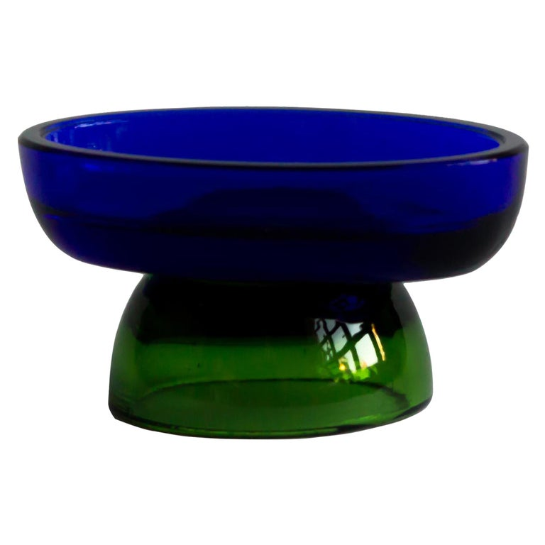 Salt cellar blue lake by Natalia Criado For Sale