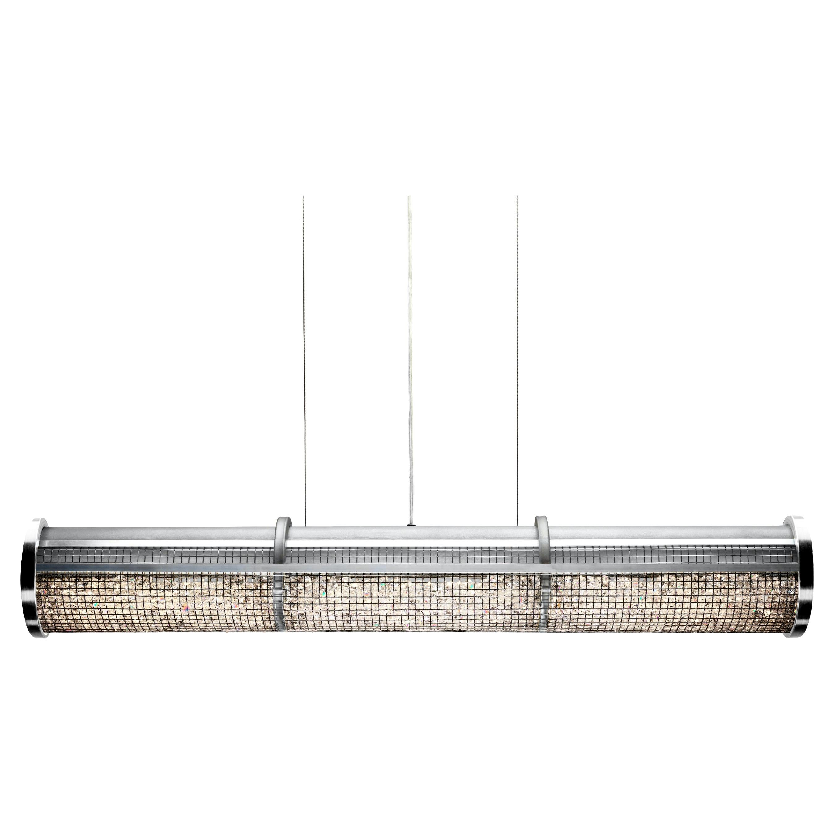 Crystal Cage LED Linear Suspension