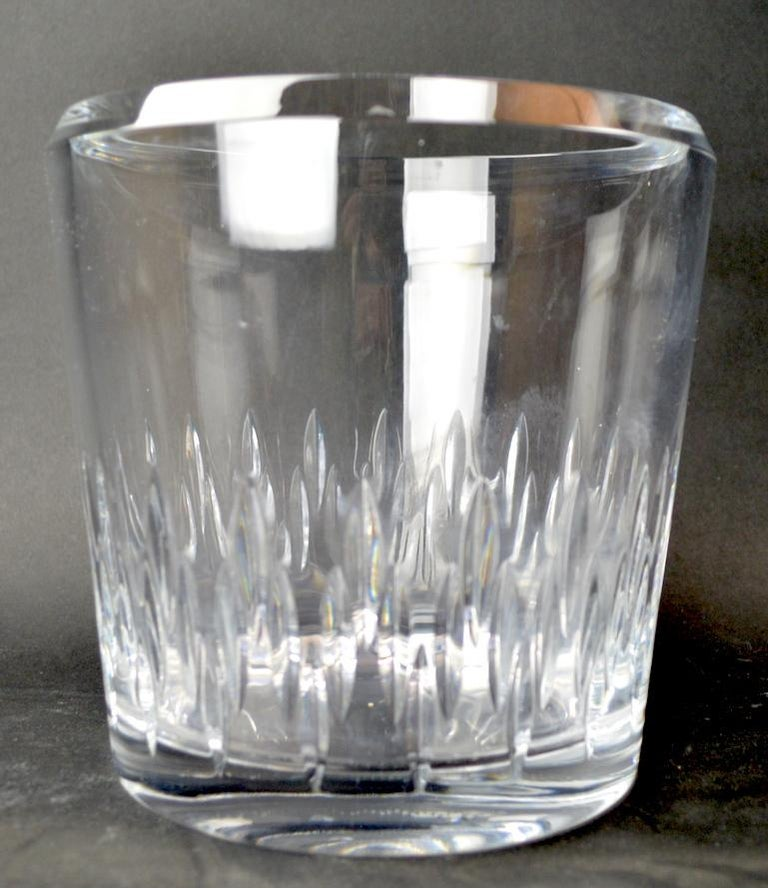 American Crystal Champagne Ice  Bucket For Sale