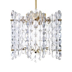 Crystal Chandelier by Carl Fagerlund for Orrefors in the 1960s