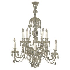 Crystal Chandelier, Italy, 20th Century