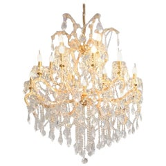 """Crystal Chandelier """"Maria Theresia"""" with Swarovski Crystals"""