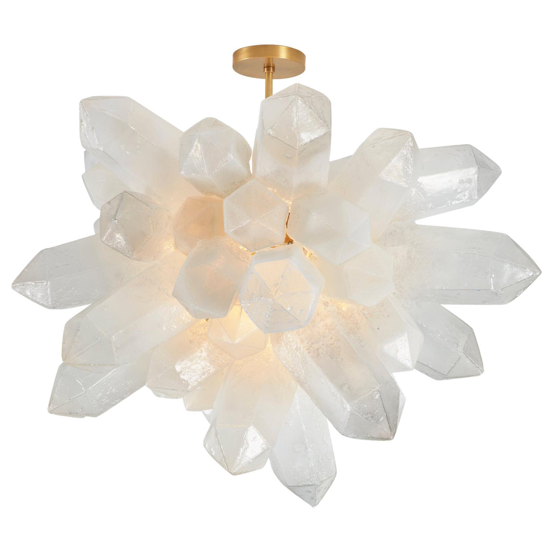 Crystal Cluster Designed by Jeff Zimmerman