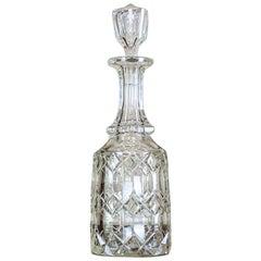 Crystal Decanter, circa 1900