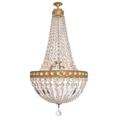 Crystal Empire Style Vintage Chandelier