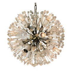 Crystal Flower Sputnik Chandelier