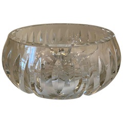Mid Century, Crystal Fruit Bowl from Saint Louis Manufacture, Original Box