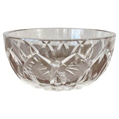Mid Century Crystal Fruit Bowl from Saint Louis Manufacturer