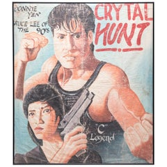 """Crystal Hunt"" Ghanaian Movie Poster"
