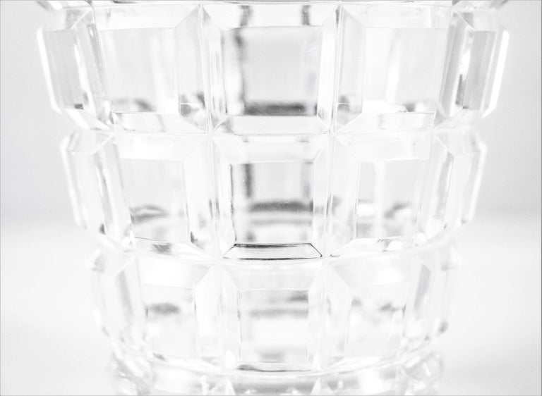 American Crystal Ice Bucket For Sale