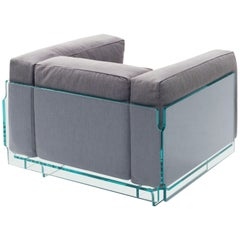 Crystal Lounge Armchair, by Jean-Marie Massaud for Glas Italia