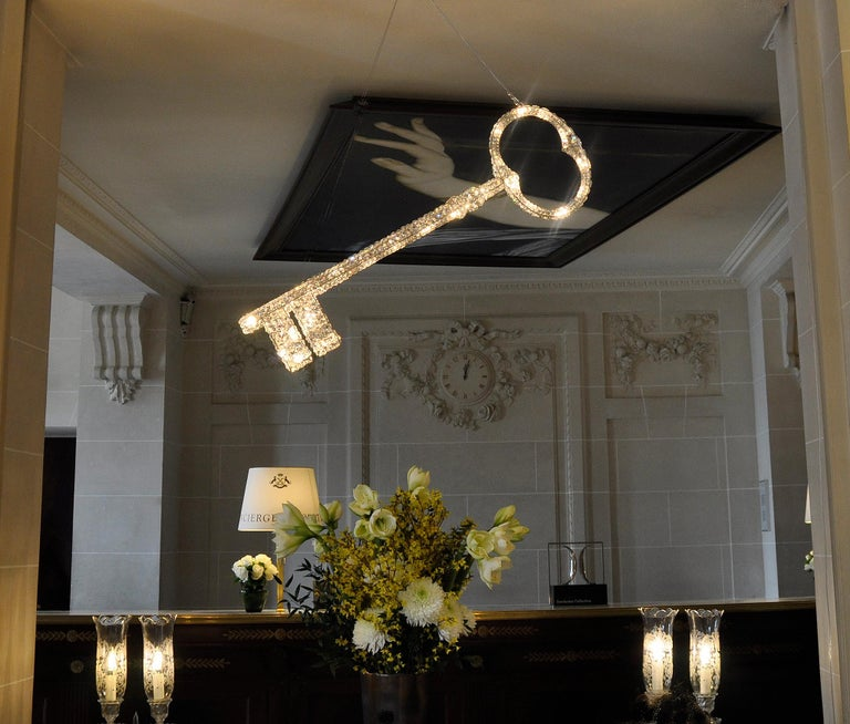 Crystal Ombrelle Light Chandellier by Geraldine Gonzalez For Sale 4