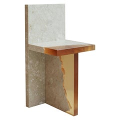 Crystal Resin and Marble, Fragment Chair, Jang Hea Kyoung