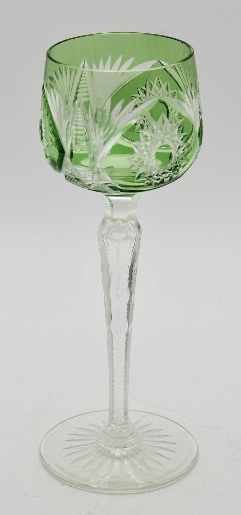 how to cut a glass stem