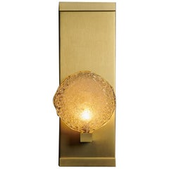 Crystal Shell Blown Glass Luxe Sconce by Shakuff