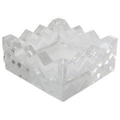 """Crystal """"Sudan"""" Ash Tray by Lalique"""