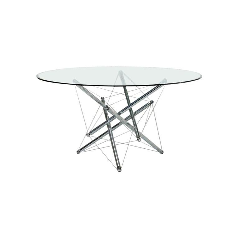 Crystal Table, Waddel for Cassina, 1973 For Sale