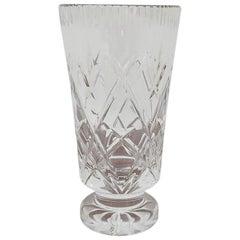 Crystal Vase, Poland, 1970s