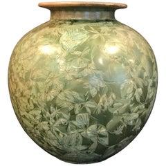 Crystalline Glaze Pottery Vase