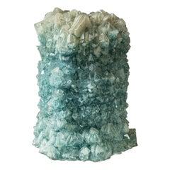Crystallized Vase Large Green