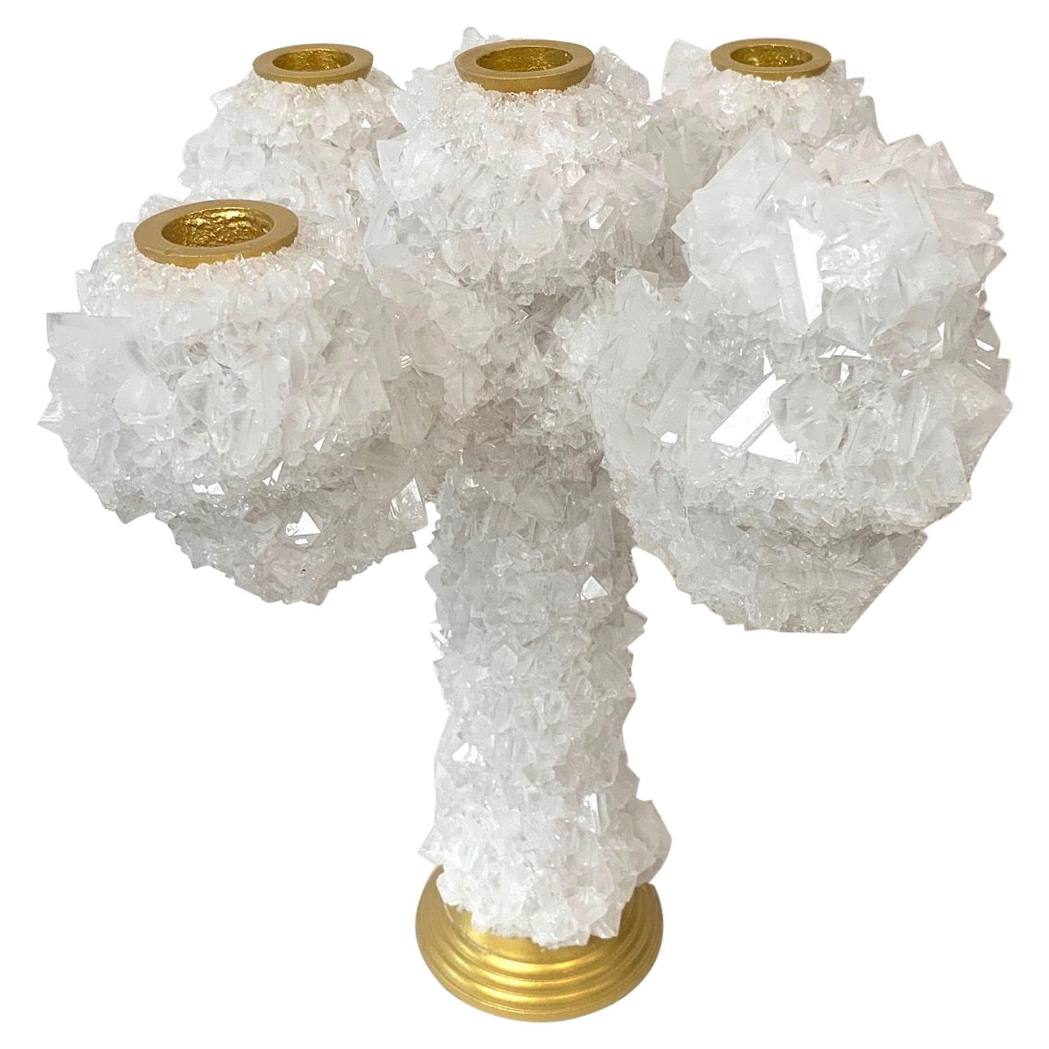 Crystals Overgrown Candelabra, Mark Sturkenboom