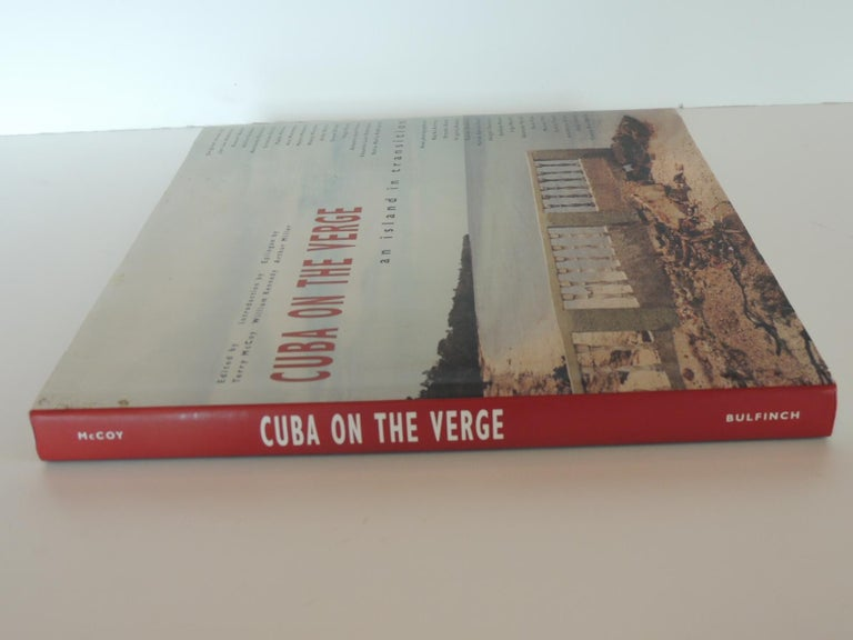 Cuba on The Verge: An Island In Transition Vintage Coffee Table Photography Hard-Cover Book A provocative, revolutionary collection of photographs and essays--on such topics as Afro-Cuban culture, rural life, the role of women, sex, and