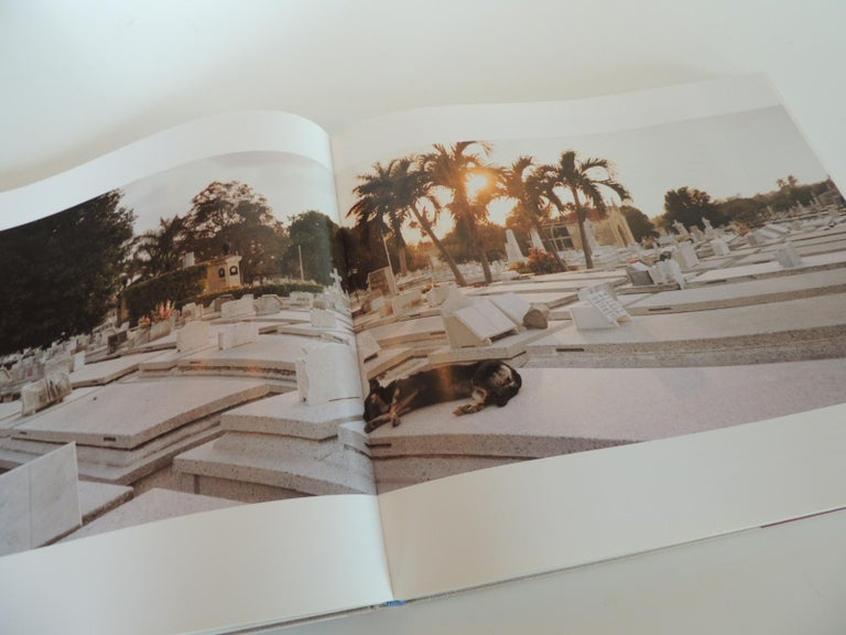 American Cuba on the Verge Vintage Coffee Table Photography Hard-Cover Book For Sale