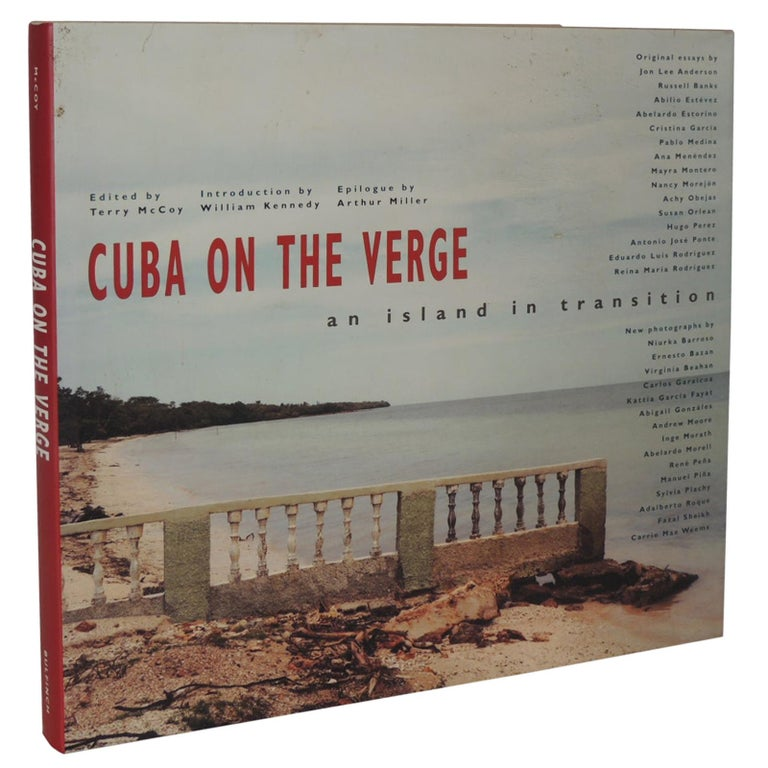 Cuba on the Verge Vintage Coffee Table Photography Hard-Cover Book For Sale