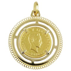 Cuban 5 Cinco Pesos Pendant