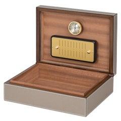 Wood Cigar Boxes and Humidors