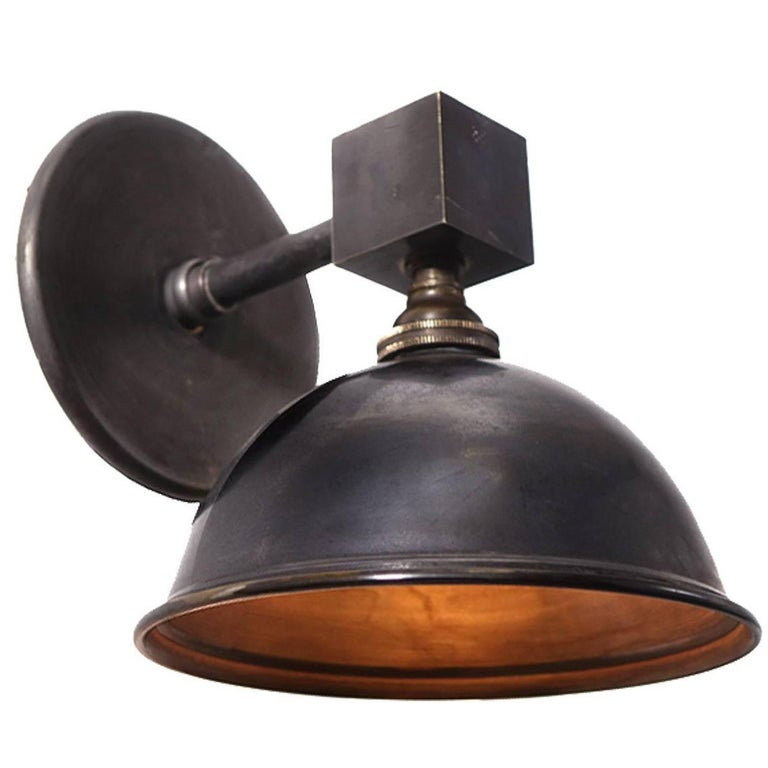 Cube and Dome Sconces