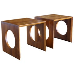 Cube Nesting Tables by Peter Hvidt for Richard Nissen