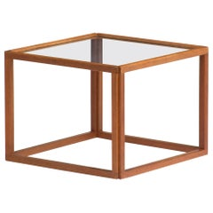 Cube Side Table by Kai Kristiansen