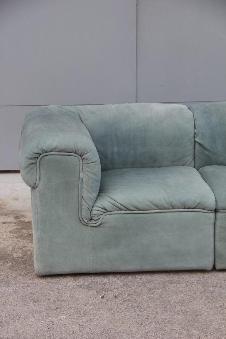 cubic modular sofa italian design 1970 pietro arosio light