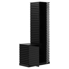 Cubic Pillar Wardrobe by Atelier V&F Chen Furong