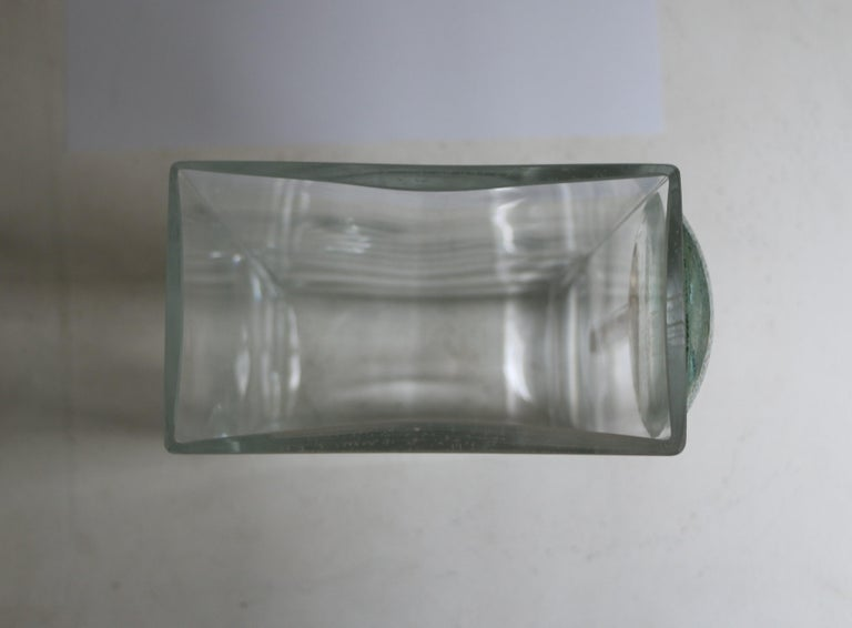Cubist Art Deco Vase by A Riecke, France, Signed and Dated 1939 For Sale 1