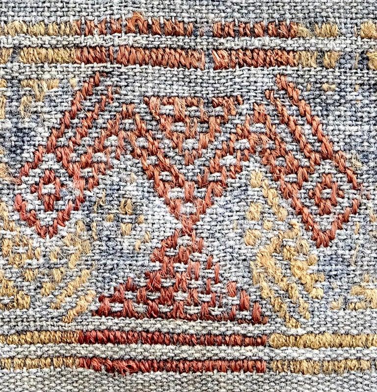 Peruvian Cubist Chancay Pre-Columbian Textile, Peru, 1100-1420 AD - Ex Ferdinand Anton For Sale