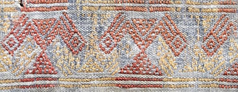 Hand-Woven Cubist Chancay Pre-Columbian Textile, Peru, 1100-1420 AD - Ex Ferdinand Anton For Sale