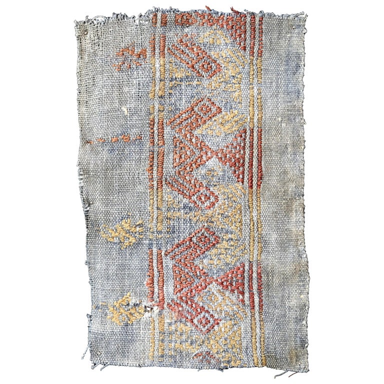 Cubist Chancay Pre-Columbian Textile, Peru, 1100-1420 AD - Ex Ferdinand Anton For Sale