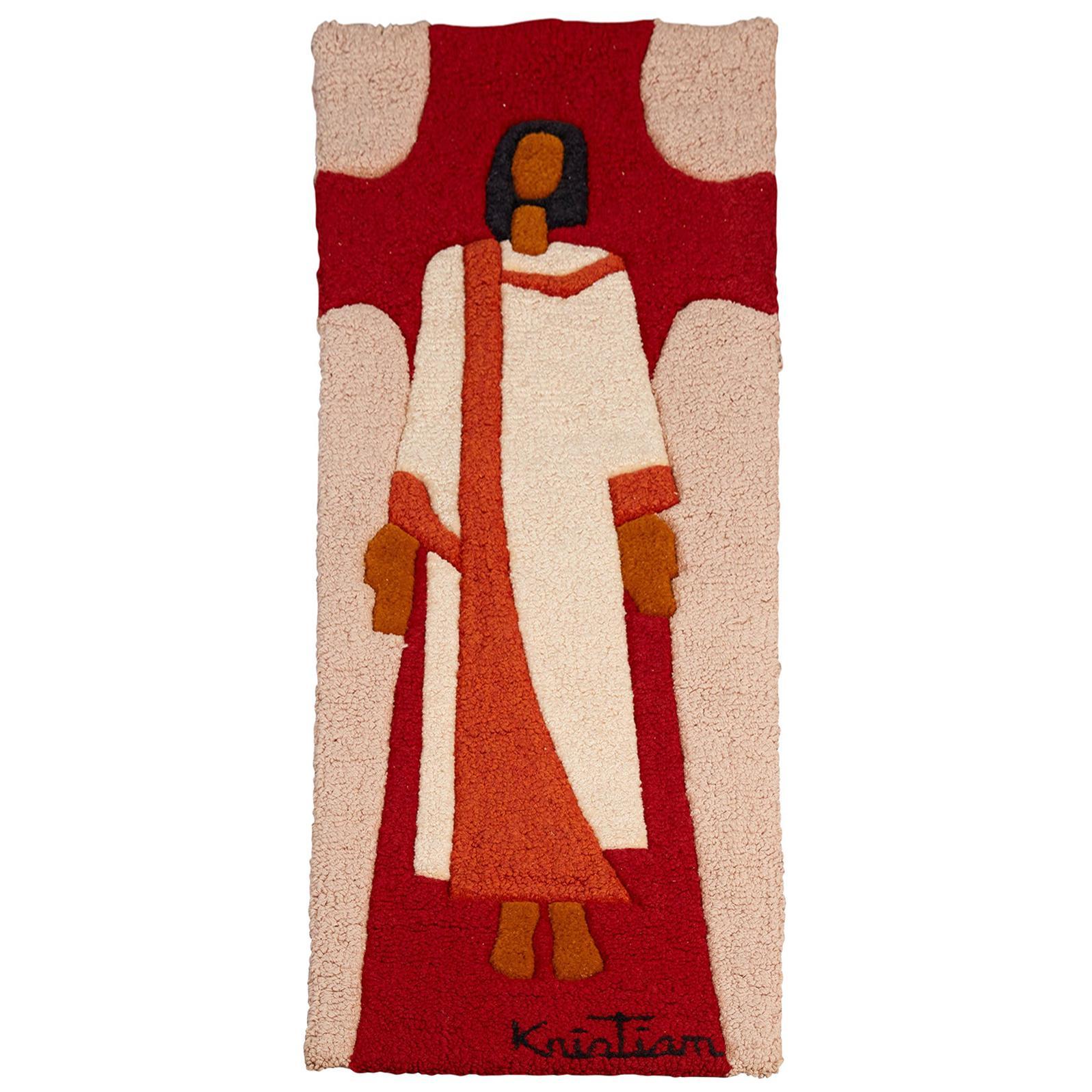 Cubist Figurative Tapestry