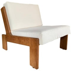Cubist Midcentury Lounge Chair