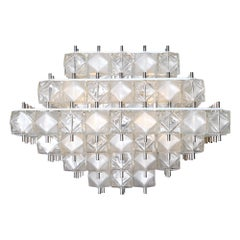 Cubist Murano Glass Chandelier