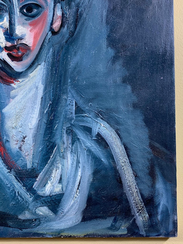 Cubist Oil Painting on Canvas For Sale 2