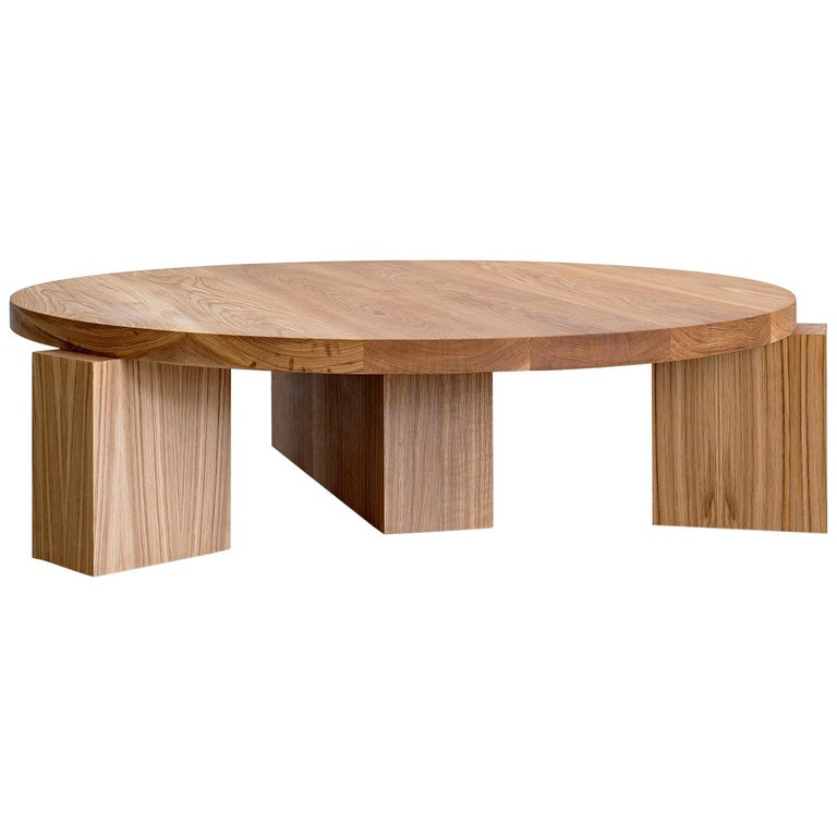 Cubist round coffee table, new, offered by Orange Furniture