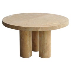 Travertine Cuddle Coffee Table by Pietro Franceschini