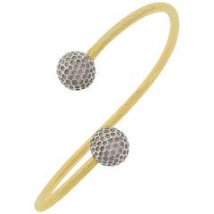 Cuff 18K and Platinum Golf Bracelet